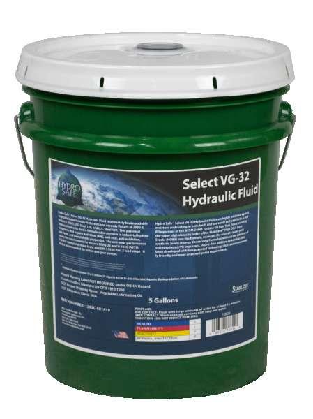 70824 Hydro Safe Select VG 32 Hydraulic Fluid 5 Gal Pail